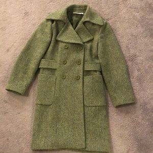 Chadwicks Green Wool Coat